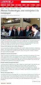 Phénix Technologie une entreprise à la campagne 09 03 2015 ladepeche 144x300 - Phénix Technologie article de la dépêche
