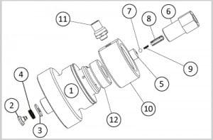 bloc clapet 300x197 - Intensifieur SX Compatible Digital Control