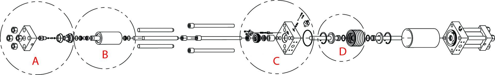 composant pompe accustream - Component High Pressure Pump