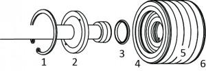 composant pompe accustreamB 300x104 - Pièces détachées pompes ACCUSTREAM