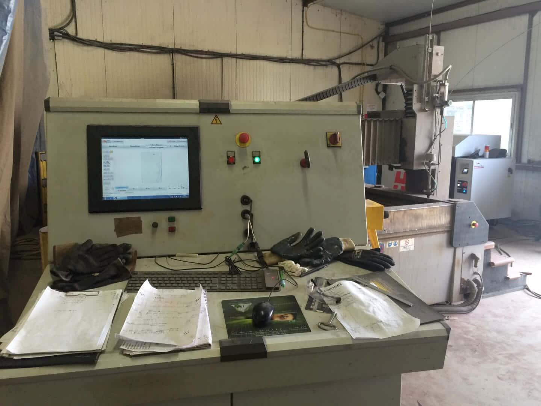 rétrofit centre de découpe jet d'eau Phénix Technologie 15