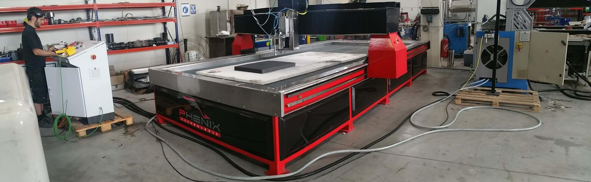 MDX8 - MD-X waterjet cutting machine