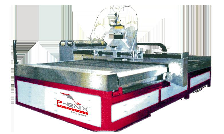 MULTI Jet waterjet cutting machine - Phénix Technologie