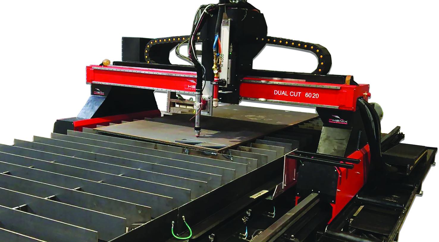 Dual CUT détail 01 détourer 1 - DUAL Cut machine découpe plasma