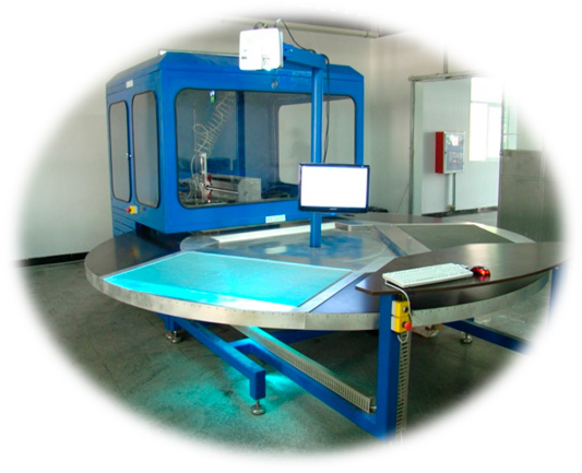 rotojet - ROTO Jet waterjet cutting machine