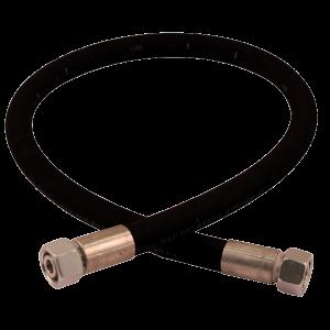 flexible hydraulique écrou tournant 10l droit