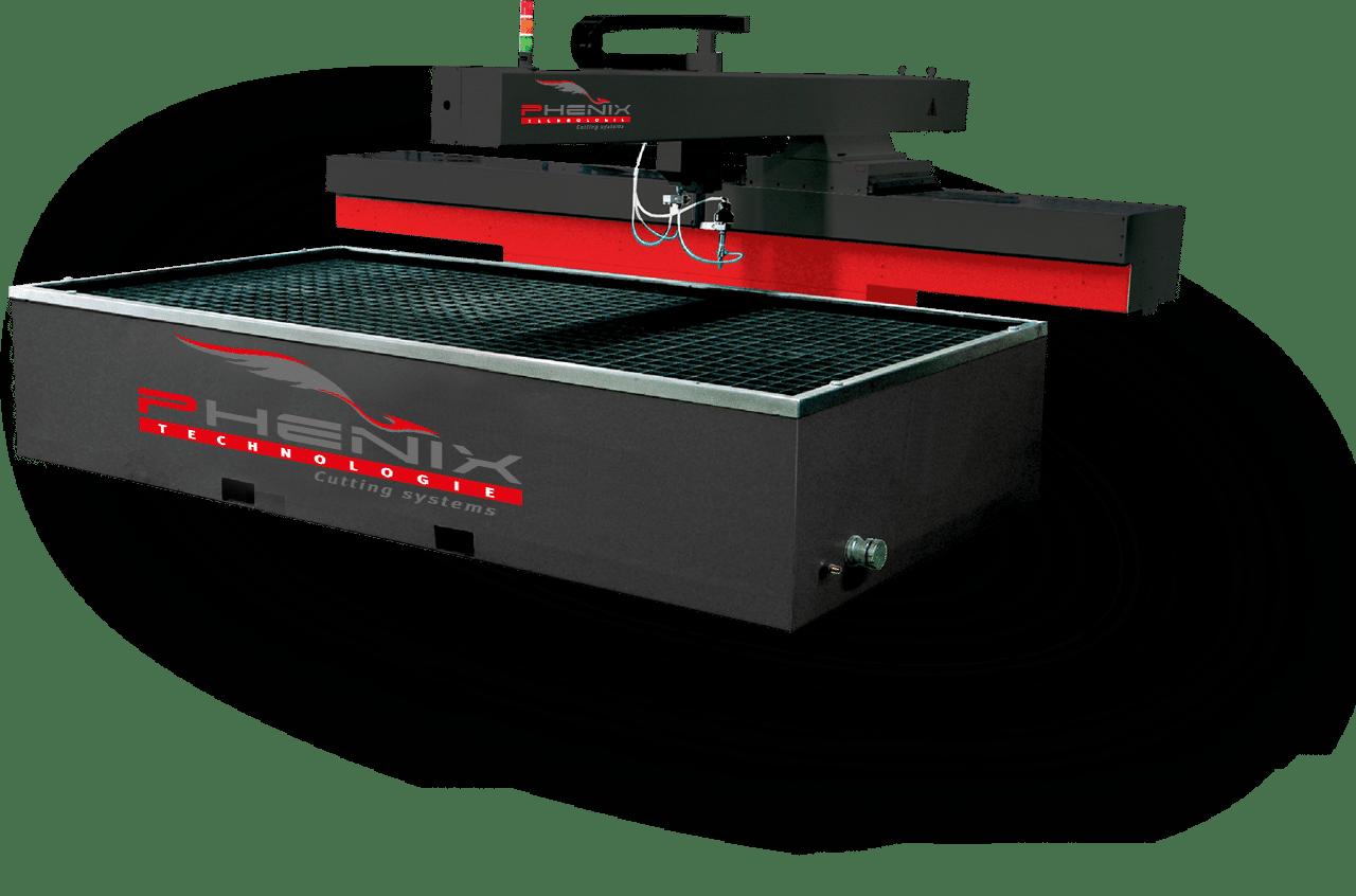 máquinas de corte por chorro de agua