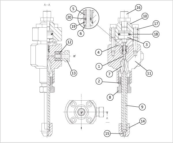 tete de decoupe hydro eau pure - Tête de découpe compatibles Digital Control suite