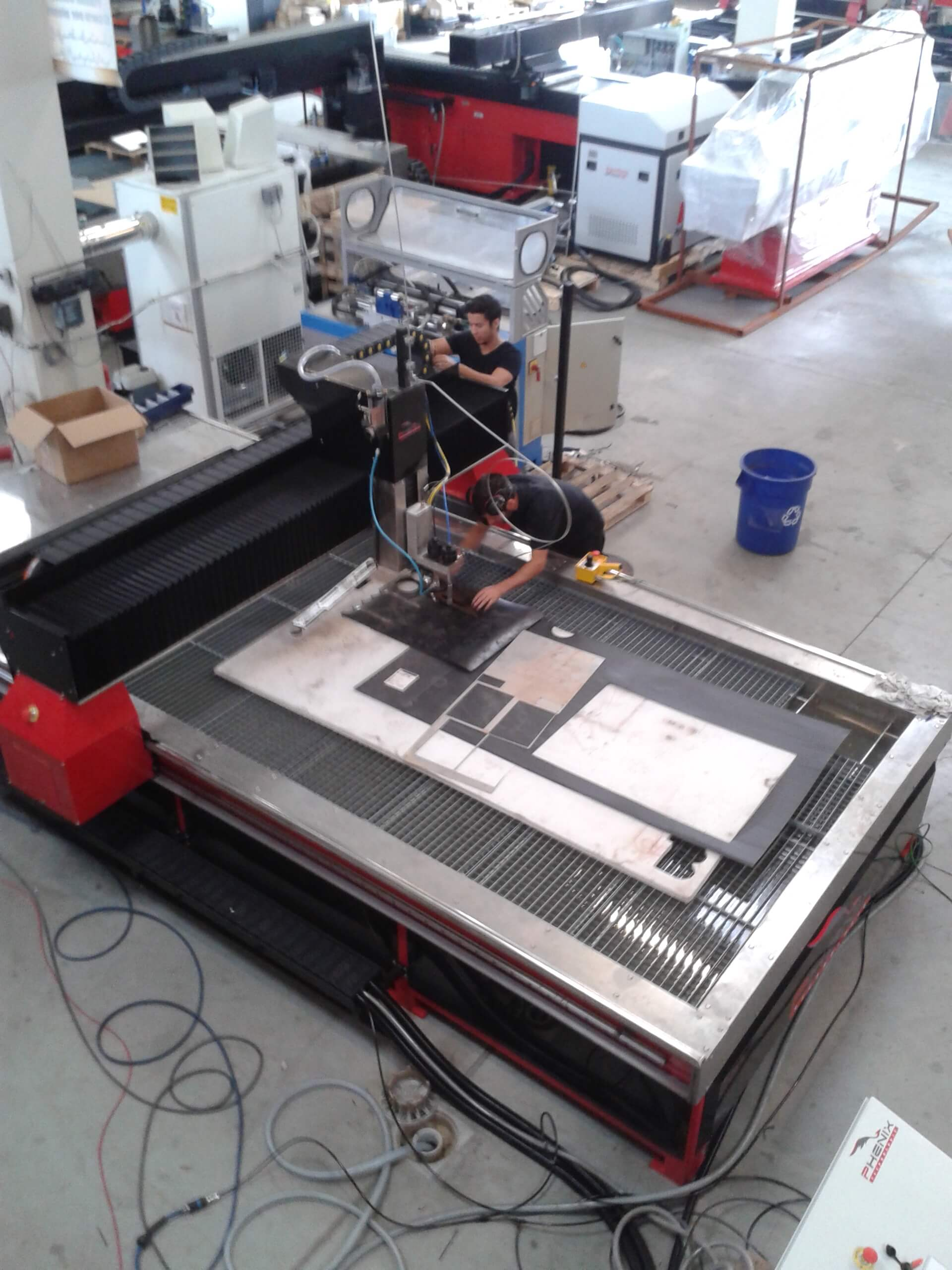 MD3 - MD-X waterjet cutting machine