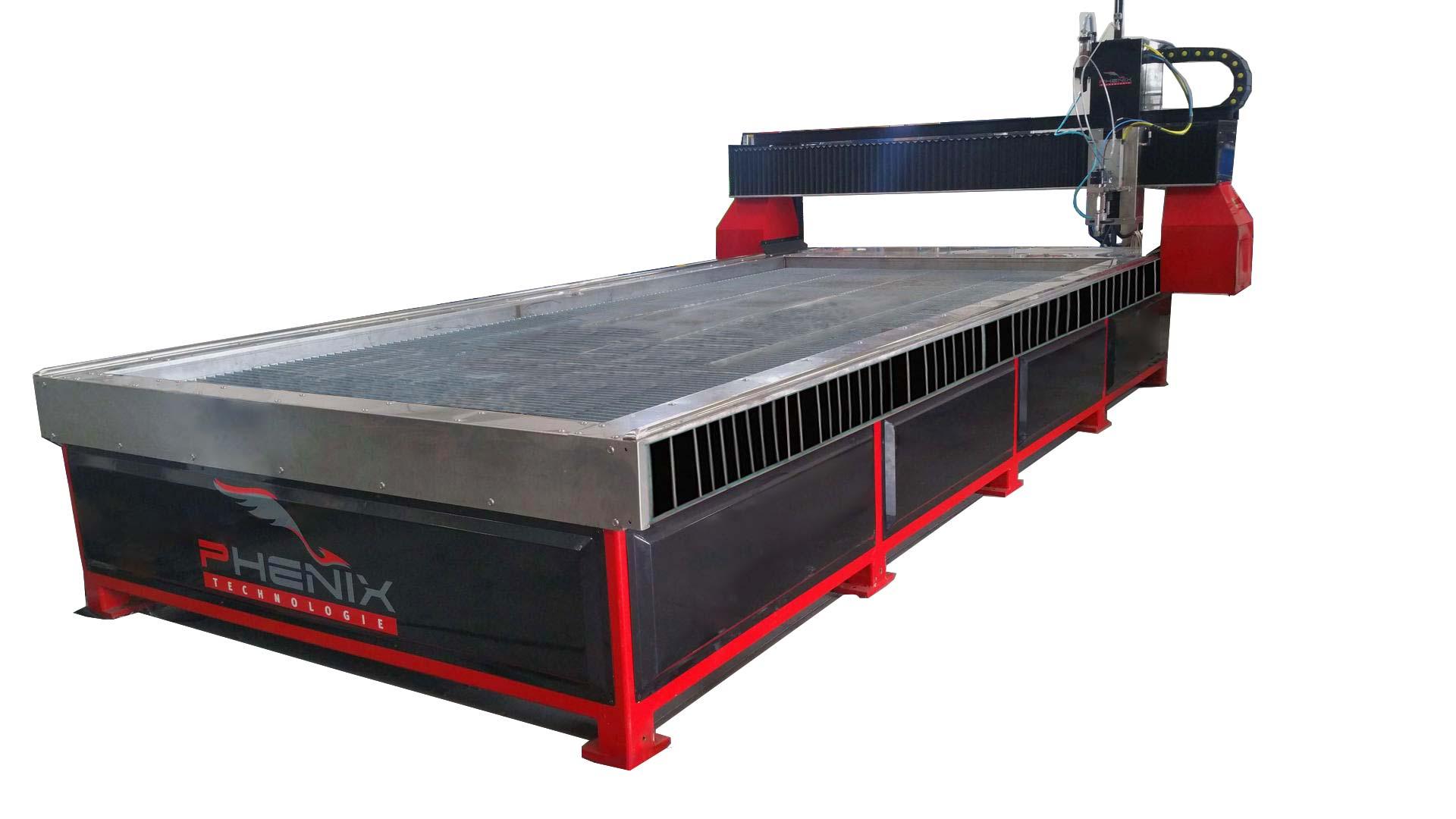 machine jet d eau MD X - MD-X Machine CNC de découpe au jet d'eau