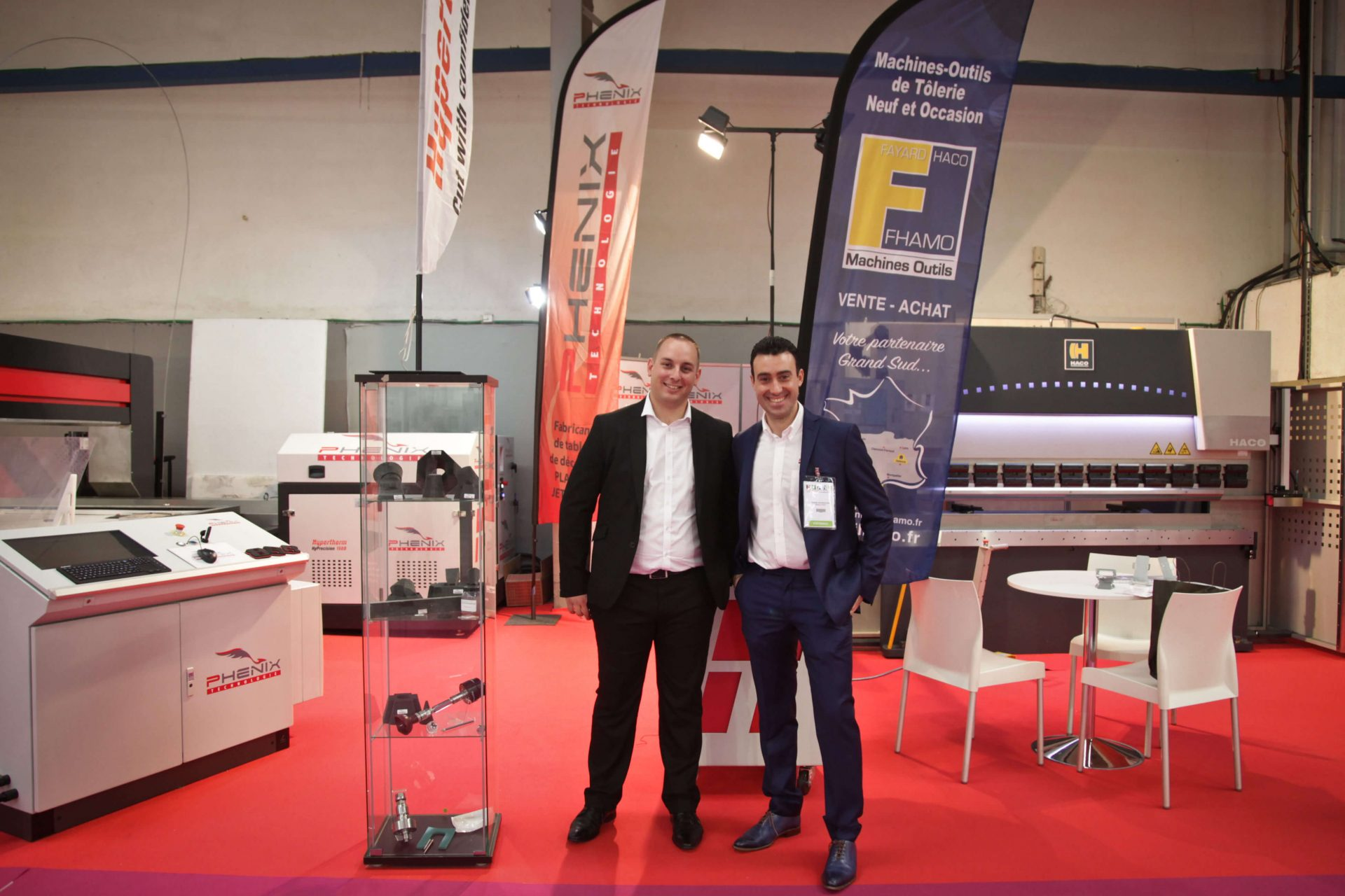 SIANE 2016 0290029 e1480066249937 - Phénix Technologie présent sur le SIANE salon des partenaires de l'Industrie