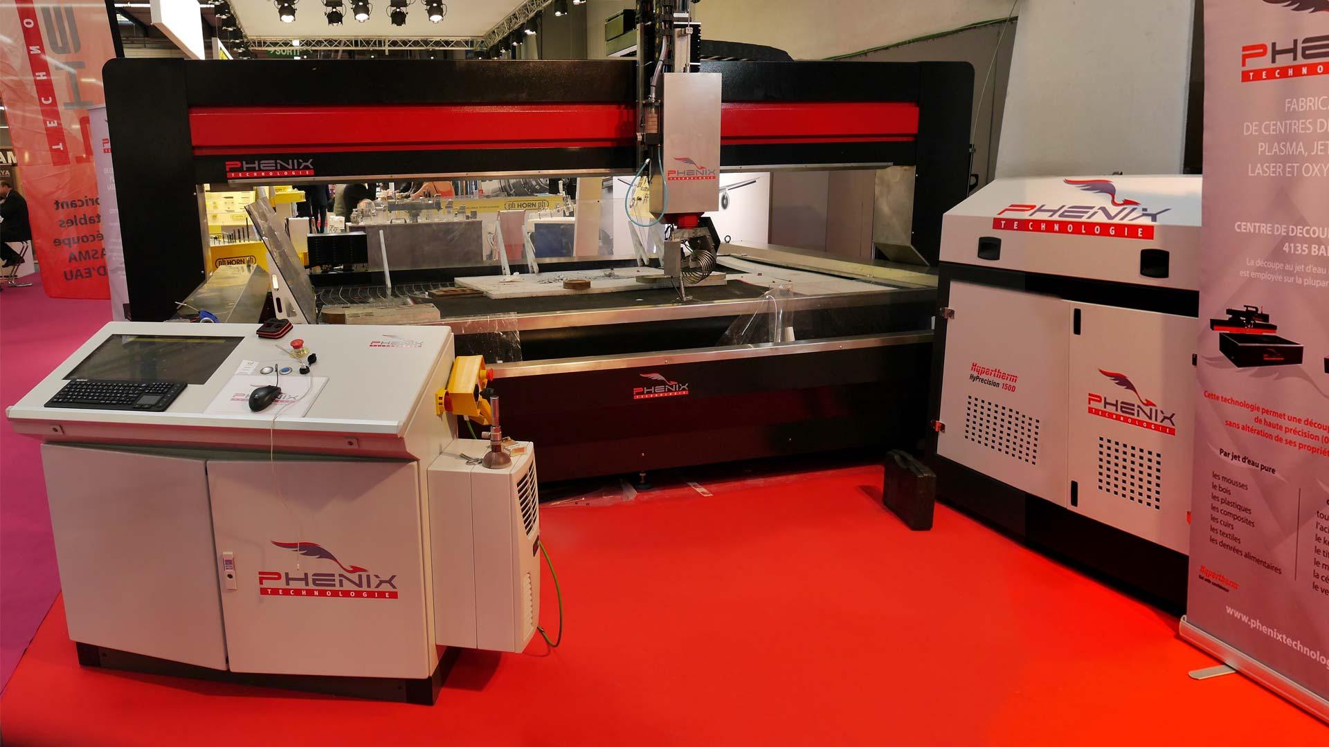 SIANE 2016 PROJet 5AXES - Phénix Technologie présent sur le SIANE salon des partenaires de l'Industrie