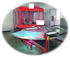 machine decoupage rotojet mini - Waterjet cutting CNC Machine