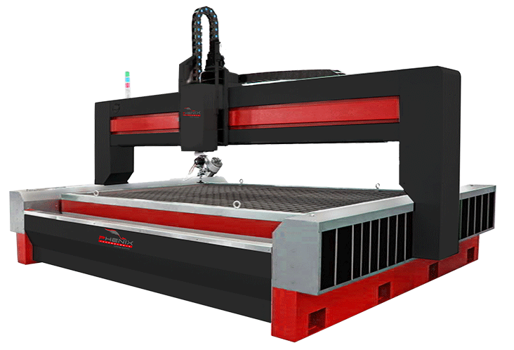 machine decoupe projet 5x jet deau - WaterJet cutting Machine