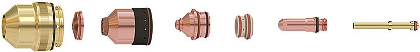 hpr800xd consomables acier doux - Consumables HPR800XD™ parts