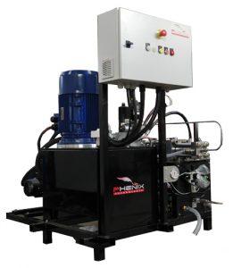 PHX15 261x300 - Pompes Haute-Pression pour tables de découpe au jet d'eau
