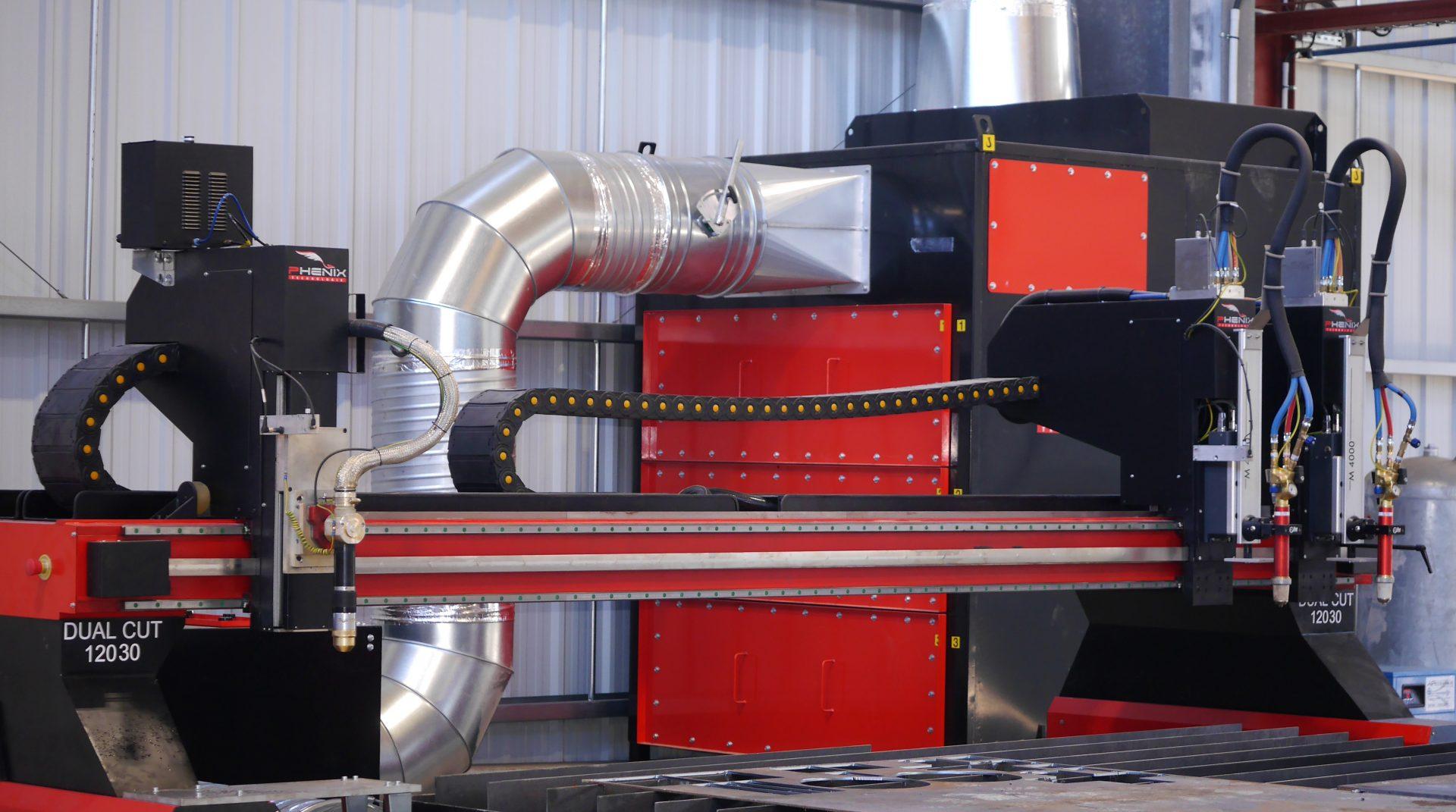 02 Dual Cut Retoucher - DUAL Cut machine découpe plasma