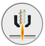 Flamme Plasma 1 - DUAL Cut machine découpe plasma