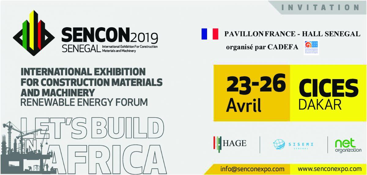 Invitation Sencon e1556895477515 - SENCON 2019 au SENEGAL